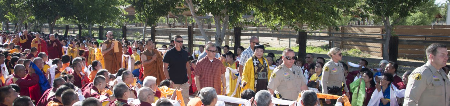 America's National Flag Is Raised for HH Dorje Chang Buddha III
